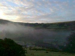 Rising mist Hill Top