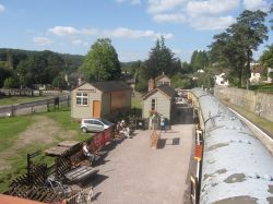 Parkend Station and the Forest