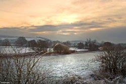 Stour Valley Winter, Shillingstone.