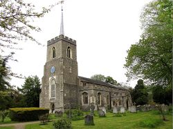 St Andrews Church, Much Hadham, Hertfordshire