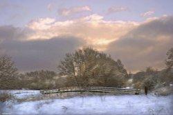 Stour Valley Winter, Shilligstone.