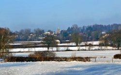 Stour Valley Winter, Shllingstone.