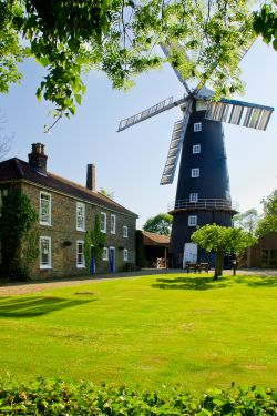 Alford windmill and tearooms, Lincolnshire