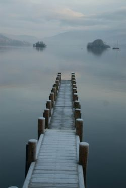 A frosty morning in Bowness