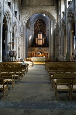 Ripon Cathedral interior
