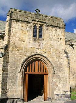 St Lawrence Church, Warkworth, Northumberland 18/09/10