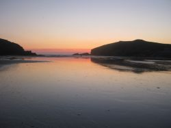 Porth sunset
