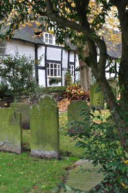 Cemetery at Great Budworth Church