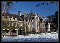 Ruthin School in the snow
