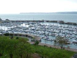 Torquay Marina on a very dull day.