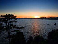 Sunset over Torbay