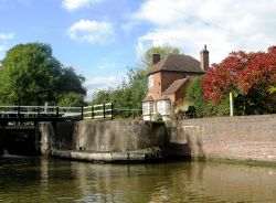 Hatton Locks on the Grand Union Canal - Warwickshire