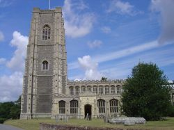 The Church of St. Peter and St. Paul, Lavenham
