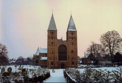 The Minster during Winter