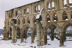 Arches in Snow