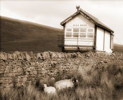 The very remote Signal Box at Blea Moor