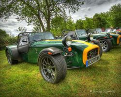 Caterham 7`s in a row