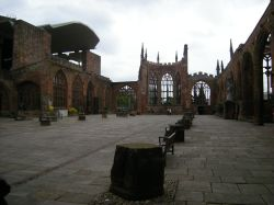 Old bombed Cathedral, Coventry