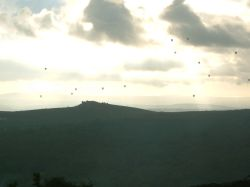 Balloons over the moor
