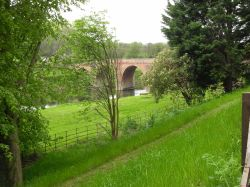 River bridge as seen from Brobury House Gardens