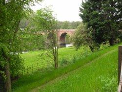 River bridge as seen from Brobury House Gardens