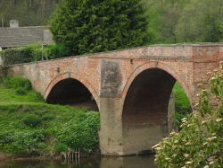 Bridge from Brobury House