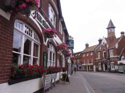 Part of the High St, Fordingbridge