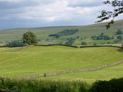 Landscape outside of Hawes.