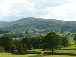 View of Hawes.