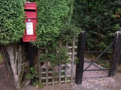The village Postbox