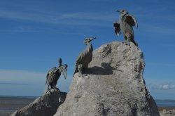 Cormorant Sculpture