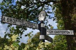Westmorland Roadsign