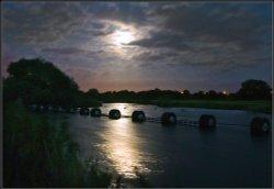 Watery Moon.