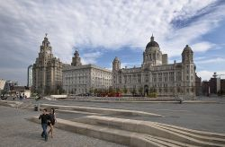 Liver, Cunard and Port Of Liverpool Buildings Wallpaper