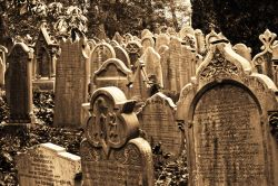 The Graveyard Haworth Parish Church