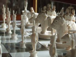 Indian Ivory Chess set