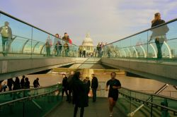 View of St Pauls from the Millenium Bridge