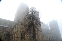 Durham Cathedral in the Fog