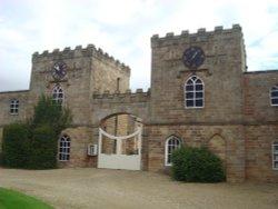 Ripley Castle, Gatehouse Wallpaper