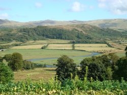 Eskdale Valley and the River Esk