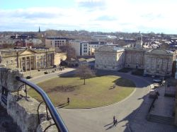 York Castle Museum from the Clifford Tower