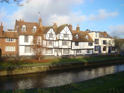 Canterbury, view from Westgate Gardens