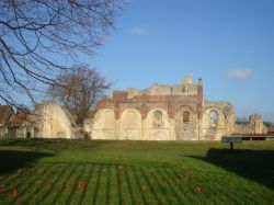 St. Augustine 's Abbey, view from Longport