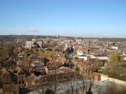 Winchester view from St. Giles' Hill