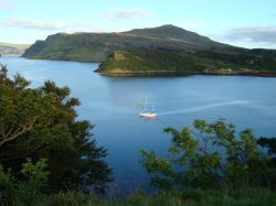 Loch Portree and Ben Tianavaig