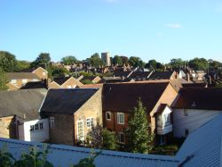Hatfield rooftops