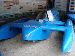 Bluebird K7 hydroplane. Car, boat or plane?