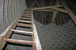 Inside the Dovecote