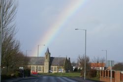 Rainbow over St. Andrews