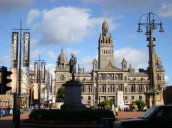 George Square and  the City Chambers